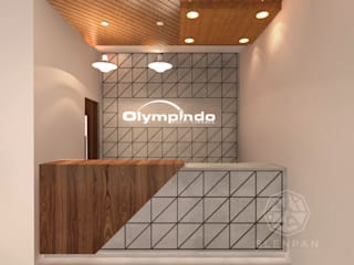 Reception & Meeting Area Office Olympindo by Studio Slenpan