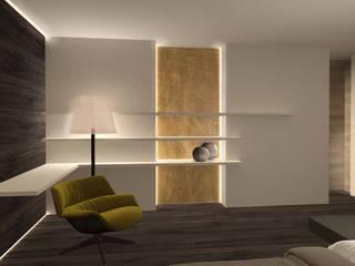dettaglio camera da letto: Camera da letto in stile  di Giemmecontract srl.