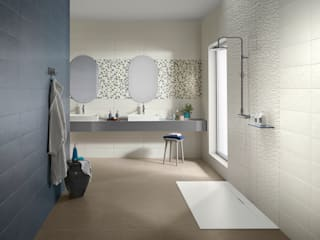 Splash Salle de bain industrielle par Love Tiles Industriel
