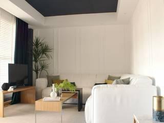 Salas de estilo moderno de ARTEFACTUM Moderno