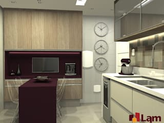 modern Kitchen by LAM Arquitetura | Interiores