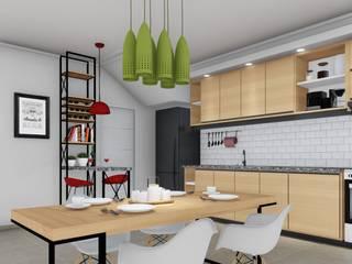 Dining room by ARBOL Arquitectos , Modern