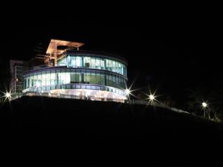 구미 전망대: (주)건축사사무소 예인그룹의  계단