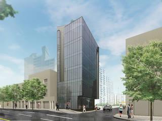 염창동 근린생활시설: (주)건축사사무소 예인그룹의  계단