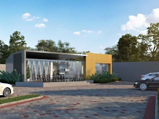 Marketing Gallery Bangunan Kantor Gaya Asia Oleh Roemah Cantik Asia