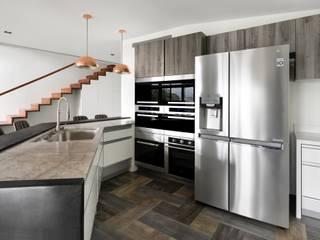 與大自然對話的智能家居 現代廚房設計點子、靈感&圖片 根據 昕益有限公司 現代風