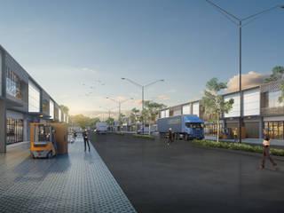 Perencanaan dan Design Komplek Pergudangan Sriwijaya Palembang Oleh Roemah Cantik