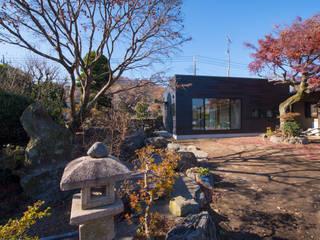 外観1: アトリエキノコが手掛けた木造住宅です。