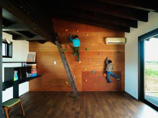 子供室: H建築スタジオが手掛けた子供部屋です。,