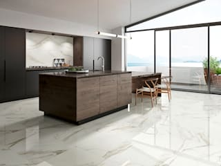 Prestige Industrial style kitchen by Margres Industrial