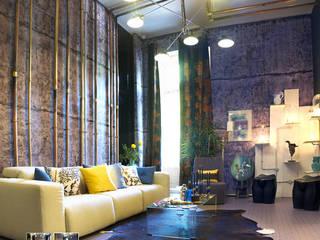 Salas de estilo industrial de ARTEFACTUM Industrial