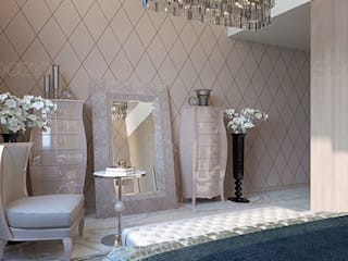 Modern style bedroom by Spazio Interior Decoration LLC Modern