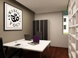 Método DeRose - MATOSINHOS: Escritórios e Espaços de trabalho  por SHI Studio, Sheila Moura Azevedo Interior Design