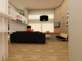 ShiStudio Interior Design Modern study/office