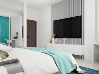 Апартаменты в Алуште: Спальни в . Автор – vitta-group