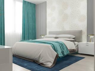Апартаменты в Алуште Спальня в стиле модерн от vitta-group Модерн