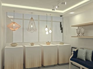 Modern commercial spaces by C | C INTERIOR ARCHITECTURE Modern