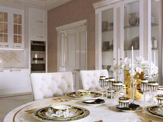 Дизайн дома Гостиная в классическом стиле от Дизайн студия Simply House Классический