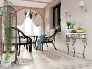 Дизайн дома Балкон и терраса в классическом стиле от Дизайн студия Simply House Классический