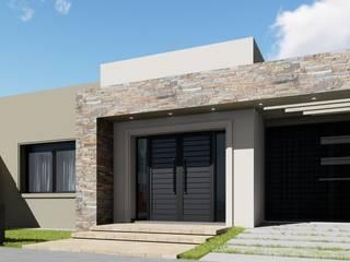 Remodelacion y ampliación Vivienda Moderna/Industrial: Casas de estilo  por ARBOL Arquitectos