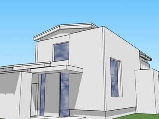 Casa en 7 Soles Casas modernas: Ideas, imágenes y decoración de muñoz bunteh arquitectos Moderno