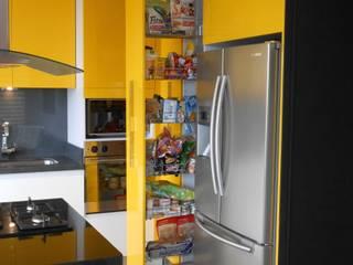 Bogotá. Sindamanoy: Cocinas integrales de estilo  por Proyectos Modulares