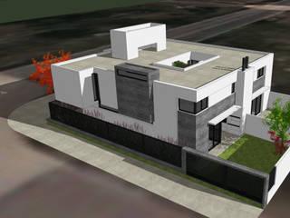 Dos Dulpex en GreenVille 2: Casas de estilo minimalista por Development Architectural group