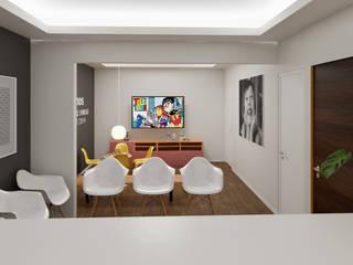 Proyecto consultorio dental Clínicas y consultorios médicos de estilo moderno de MG estudio de arquitectura Moderno