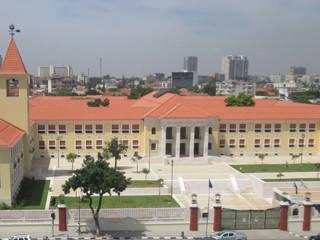 Mutu Ya Kevela School Escolas coloniais por Eugénio Queiroz Arquiteto Colonial