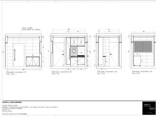 Casas unifamilares de estilo  de A|S Studio Criativo 3D -  Soluções Inteligentes em projetos técnicos, Moderno