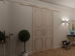 Квартира для джетсеттера: двери в . Автор – Spacelab Design,