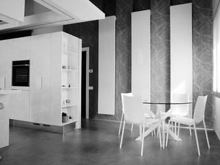 D'E&F apartment Soggiorno moderno di Studio ARCHEXTE' _ Vincenzo Castaldi Architetto Moderno