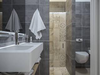Ristrutturazione appartamento 52 mq - Forlì: Bagno in stile  di Santoro Design Render