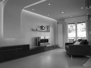 D&AV apartment Soggiorno moderno di Studio ARCHEXTE' _ Vincenzo Castaldi Architetto Moderno