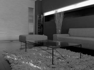 V apartment Soggiorno moderno di Studio ARCHEXTE' _ Vincenzo Castaldi Architetto Moderno