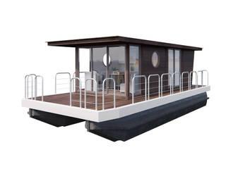Houseboat : Гостиницы в . Автор – Spacelab Design,