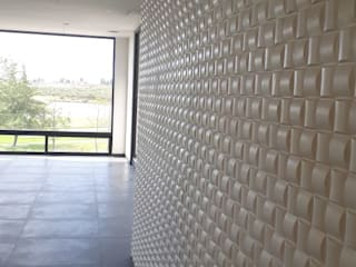 PROYECTO RESIDENCIAL de GRUPO DALÒ PANELES DECORATIVOS EN 3D Moderno