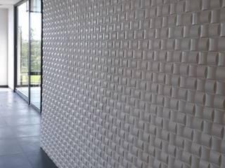 PROYECTO RESIDENCIAL Paredes y pisos de estilo moderno de GRUPO DALÒ PANELES DECORATIVOS EN 3D Moderno