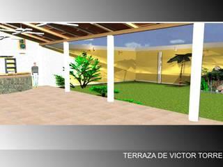 : Terrazas de estilo  por Grupo Entorno