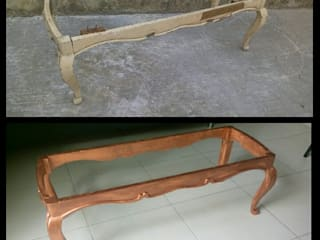 Restauración de mesa Dafne Diaz Interiorista