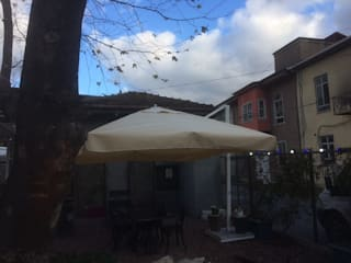 Akaydın şemsiye Modern Conservatory Aluminium/Zinc White