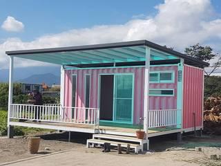 貨櫃屋-怎麼想法,怎麼設計,怎麼堆,怎麼疊,由您決定!:   by 花蓮和信貨櫃