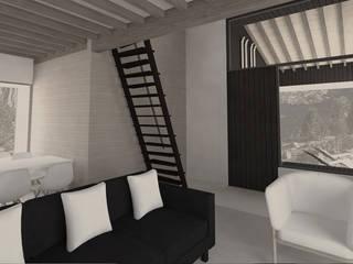 SMART HOME CONCEPT: Salones de estilo  de Nexus Estudio