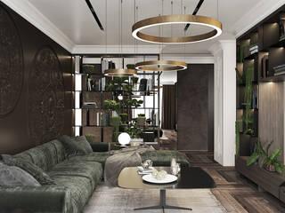 Гостиная в . Автор – U-Style design studio,