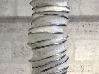 Lampes spiralées par Mathilde Pénicaud, sculpteure Industriel