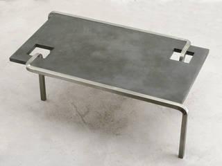 Table basse TRO par Mathilde Pénicaud, sculpteure Industriel
