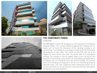 Corporate Tower, Gurgaon:  Office buildings by amitmurao.com