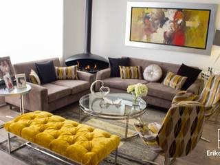 Remodelación & Diseño Interior de Departamento Flat: Salas / recibidores de estilo  por EPG  Studio