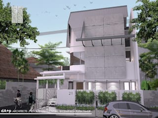 Corner House Oleh daksaja architects and planners