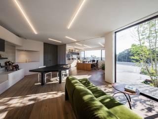 1Fアトリエ: 株式会社seki.designが手掛けた書斎です。,